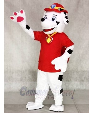 Paw Patrol Marshall Dalmatian Puppy Fire Dog Mascot Costumes Pups Cartoon