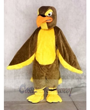 Adult Brown Falcon Mascot Costumes Animal