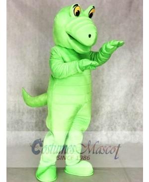 Green Albert Alligator Mascot Costumes Animal