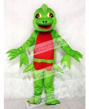 Green Pterosaur Flying Dinosaur Mascot Costume