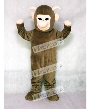Brown Yeti Mascot Costume