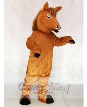 Cute Pony Horse Mascot Costumes Animal