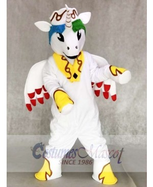 White My Little Pony Horse Princess Celestia Mascot Costumes Cartoon