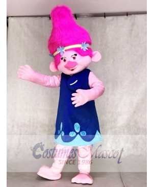 Trolls Baby Poppy Mascot Costumes Cartoon