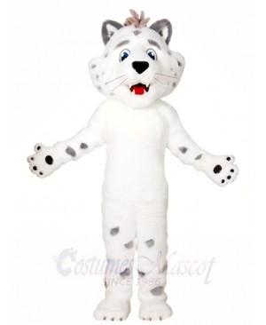White Leopard Mascot Costumes Animal