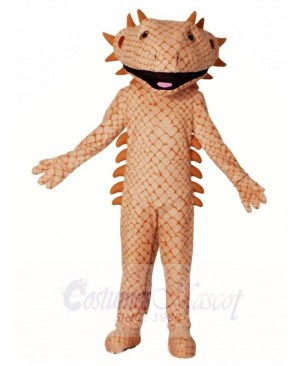 Brown Lizard Mascot Costumes
