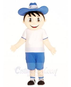 Football Player Boy Mascot Costumes People