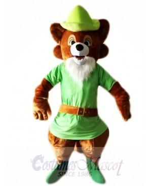 Robin Hood Brown Fox Mascot Costumes