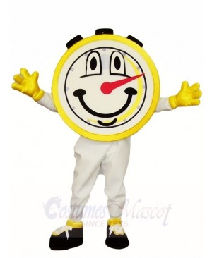 One Hour Stop Watch Mascot Costumes