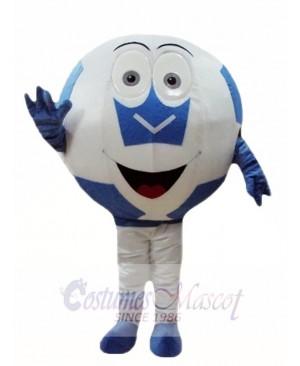 Blue Ball Football Mascot Costumes