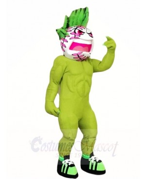 Green Tennis Ball Mascot Costumes