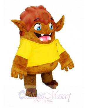 Brown Elf Mascot Costumes