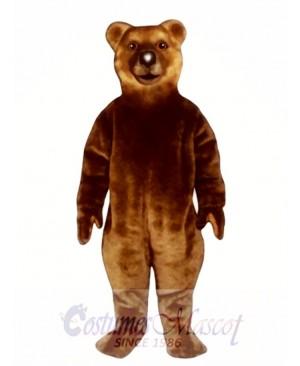 Realistic Bear Mascot Costume