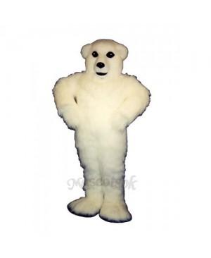 Happy Polar Bear Mascot Costume