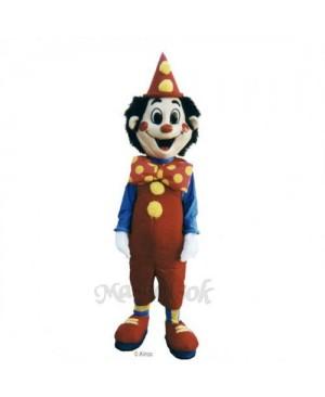 Sparkle the Clown Mascot Costume