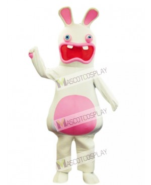 Rayman Raving Rabbit Easter Bunny Mascot Costume