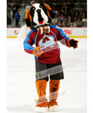 Bernie the Dog St. Bernard Colorado Avalanche Mascot Costume
