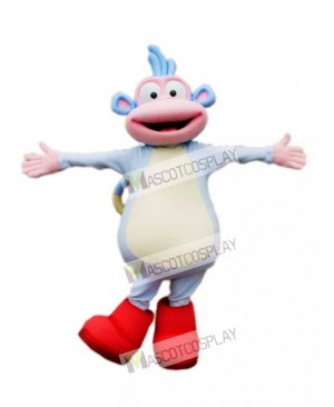 High Quality Adult Boots Monkey Mascot Costume
