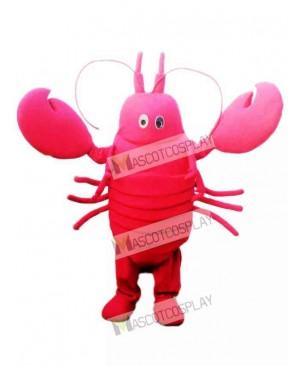 Red Crayfish Mascot Costume Seafood