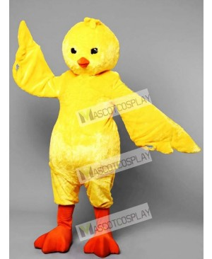 Fantasy Yellow Chicken Mascot Costume
