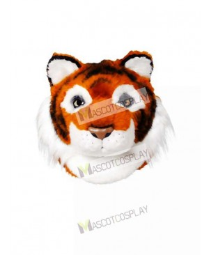 Friendly Tiger Mascot Head Only