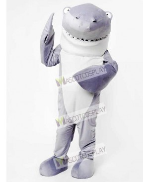 Gray Shark Mascot Adult Costume