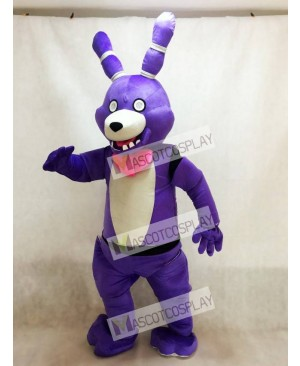 FNAF Five Nights At Freddy's Bonnie the Bunny Mascot Costume