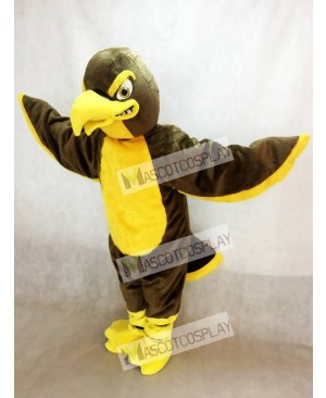 Brown Hawk Falcon Mascot Costume Animal