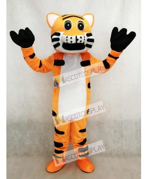 Red Tiger Mascot Adult Costume Animal
