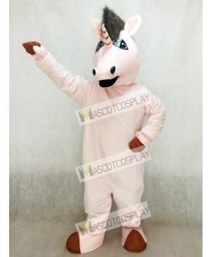 Pink Eunice Unicorn Mascot Costume