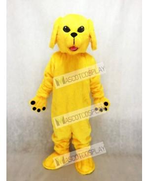 Cute Golden Lab Dog Mascot Costume