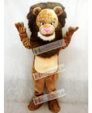Fierce Wally Lion Mascot Costume