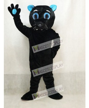 Sir Purr of the Carolina Panthers Mascot Costume Black Panther