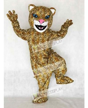 Adult Jaguar Mascot Costume Animal