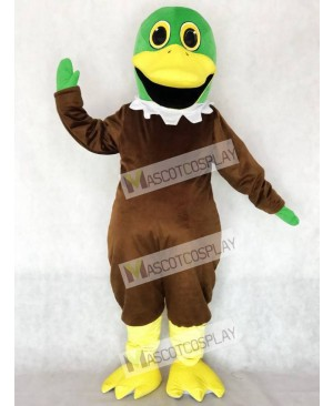 Cute Mallard Duck Mascot Costume Animal