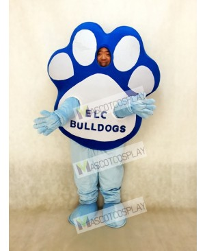 Custom Foam Body Paw Mascot Costume