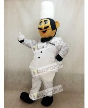 Restaurant Promotion Italian Chef Cook Mascot Costume