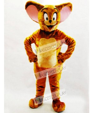 Brown Jerry Rat Mascot Adult Costume