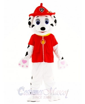 Marshall Paw Patrol Dog Mascot Costume