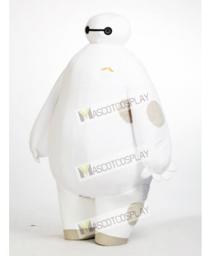 Hot Sale Adorable White Robot Big Hero 6 Baymax Mascot Costume