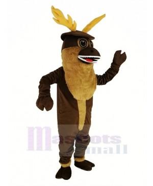 Sporty Buck Deer Mascot Costume