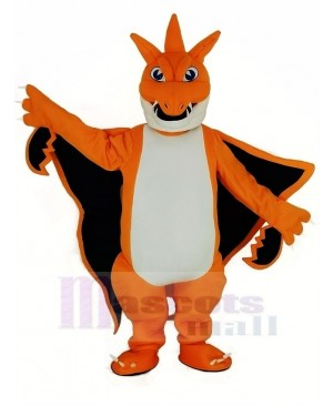 Orange Mega Charizard X Pocket Monster Pokemon Pokémon Firedragon Mascot Costume Cartoon