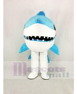 Cute Blue Whale Shark Mascot Costume Animal