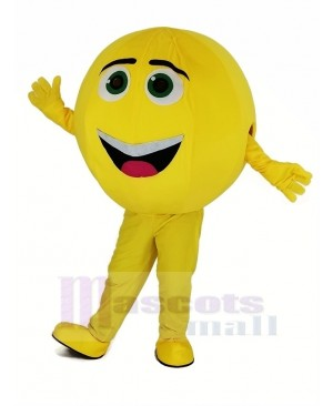The Yellow Emoji Movie Characters Gene Mascot Costumes Cartoon
