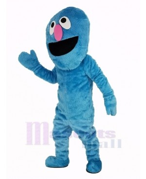 Grover Blue Elmo Monster Sesame Street Mascot Costume