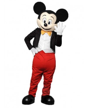 Mickey Mouse In Tuxedo Mascot Costume Anime