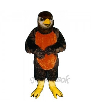 Redd Robin Mockingbird Mascot Costume