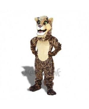 Cute Leopard Cub Mascot Costume