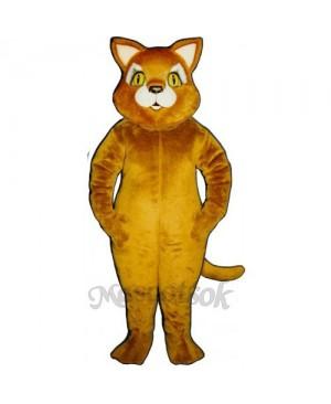 Cute Cinnamon Cat Mascot Costume