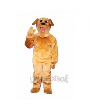Cute Puppy Dog Mascot Costume